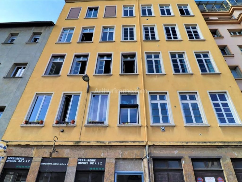 Achat appartement 2pièces 43m² - Lyon 4ème arrondissement