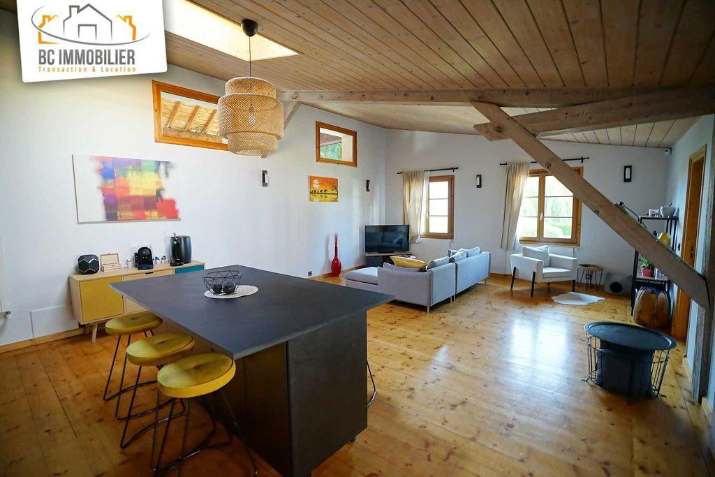 Achat appartement 4pièces 102m² - Ségny