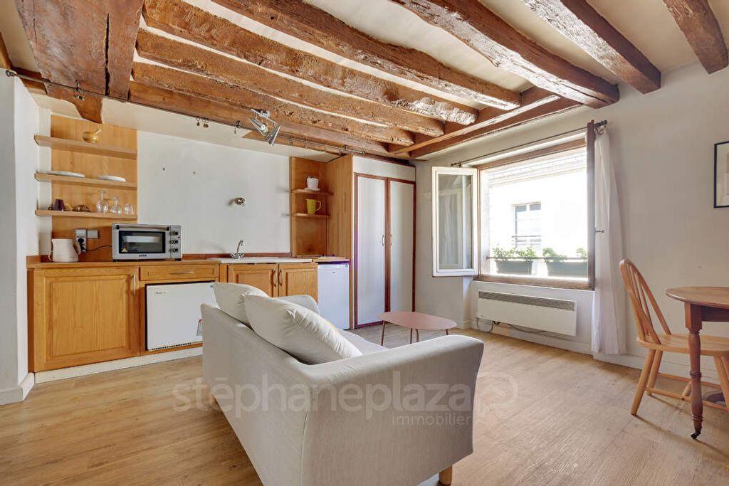 Achat appartement 2pièces 34m² - Paris 4ème arrondissement