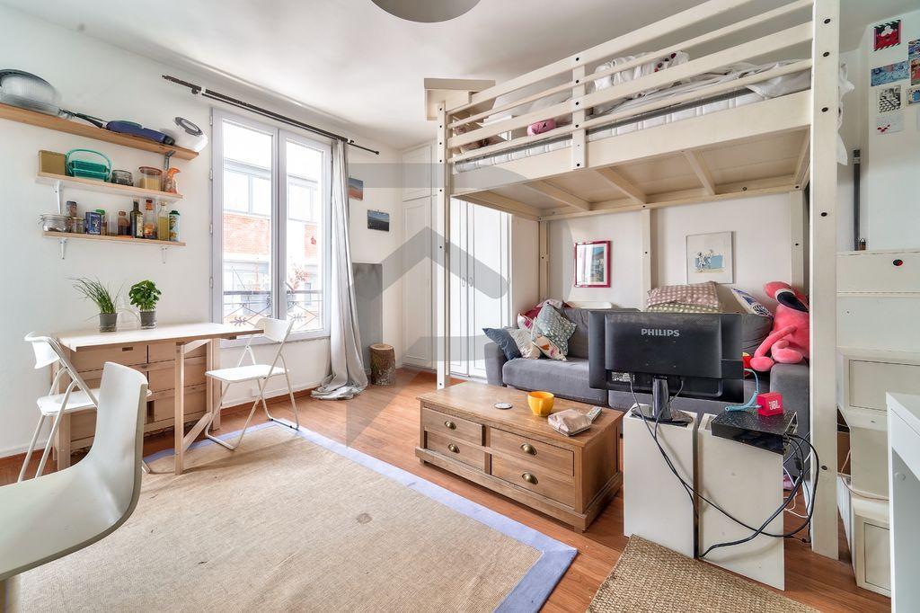 Achat studio 22m² - Paris 11ème arrondissement