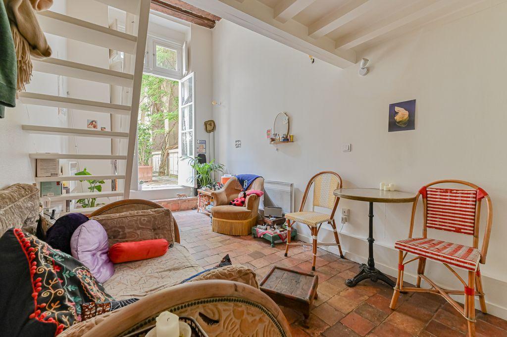 Achat duplex 2pièces 29m² - Paris 3ème arrondissement