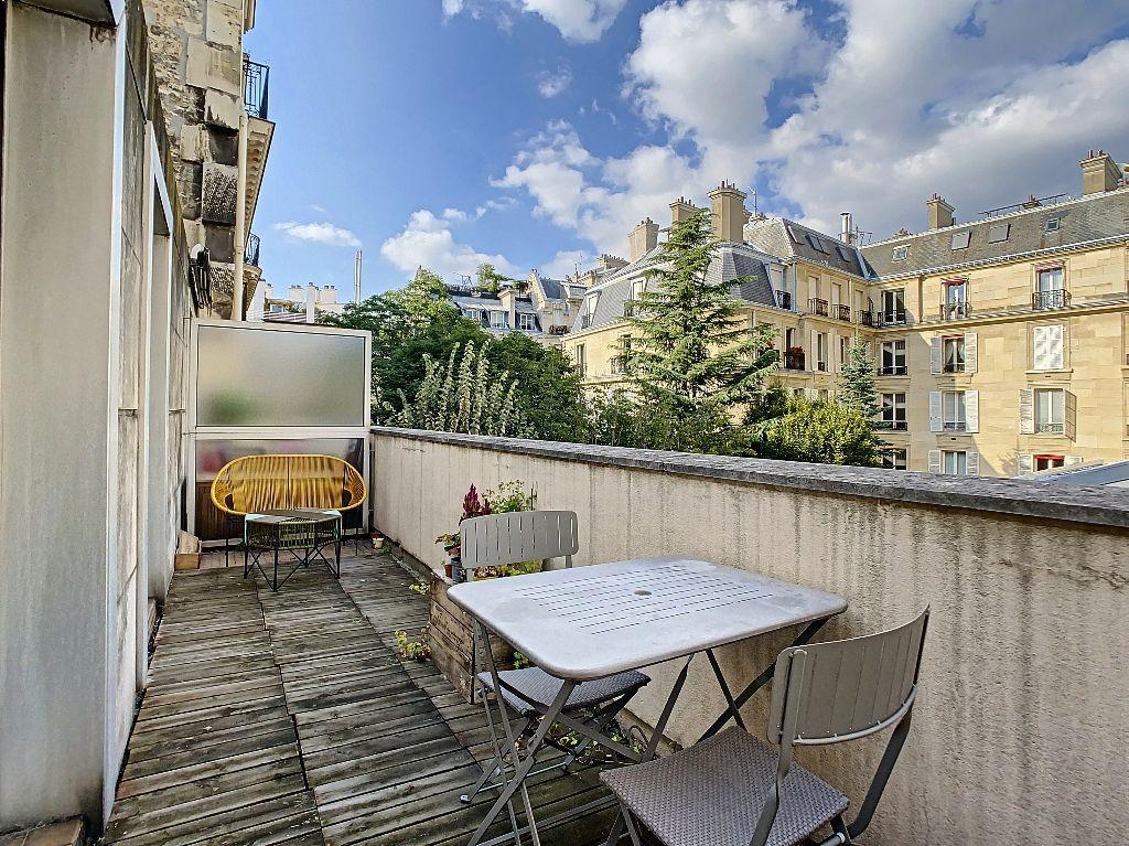 Achat duplex 2pièces 45m² - Paris 8ème arrondissement