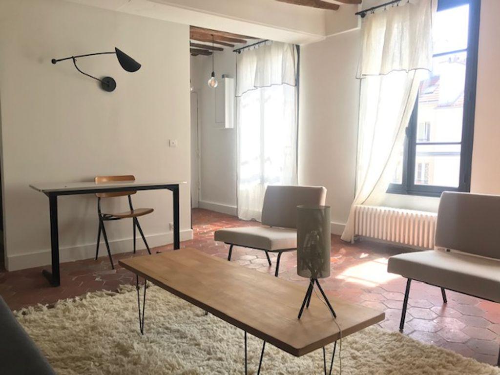 Achat appartement 2pièces 37m² - Paris 3ème arrondissement