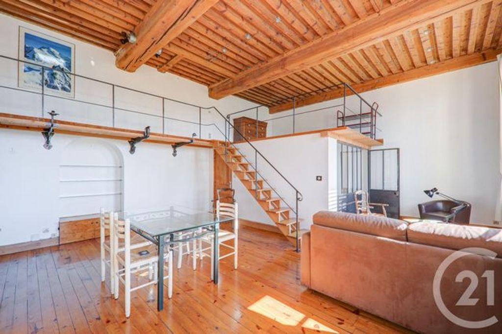 Achat loft 2pièces 54m² - Lyon 1er arrondissement