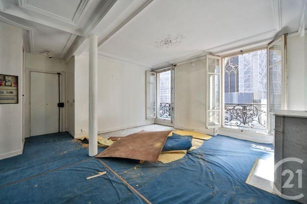 Achat studio 34m² - Paris 4ème arrondissement