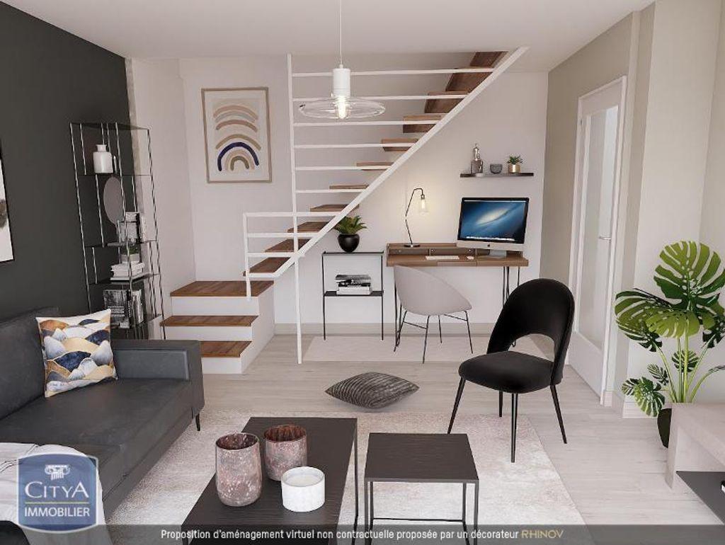 Achat duplex 3pièces 53m² - Grenoble