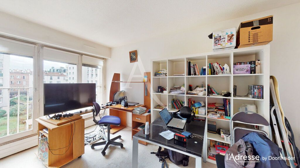 Achat studio 26m² - Paris 20ème arrondissement