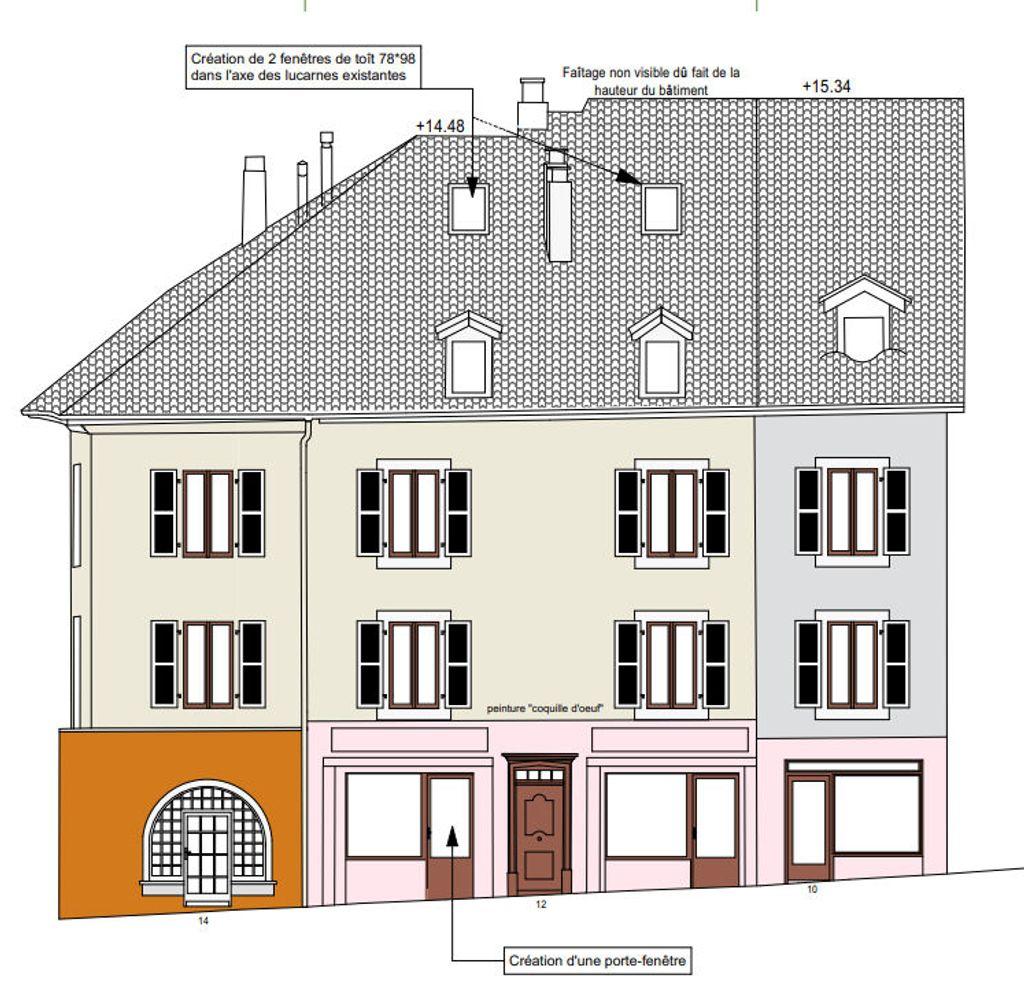 Achat studio 18m² - Évian-les-Bains