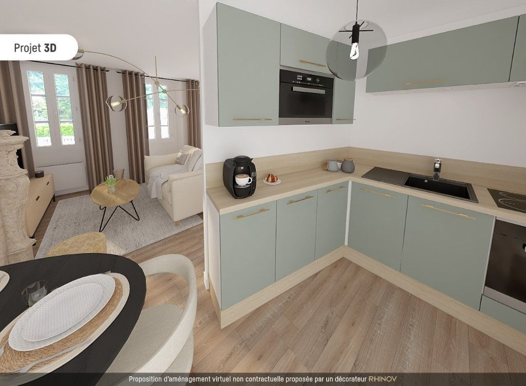 Achat appartement 2pièces 47m² - Lyon 5ème arrondissement