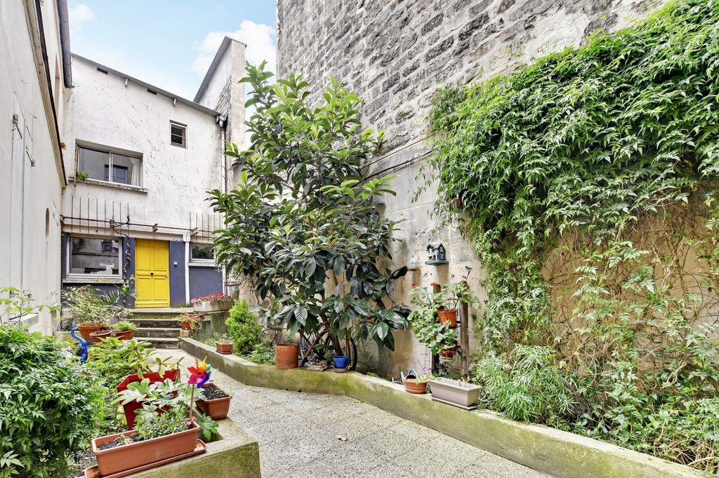 Achat studio 22m² - Paris 19ème arrondissement