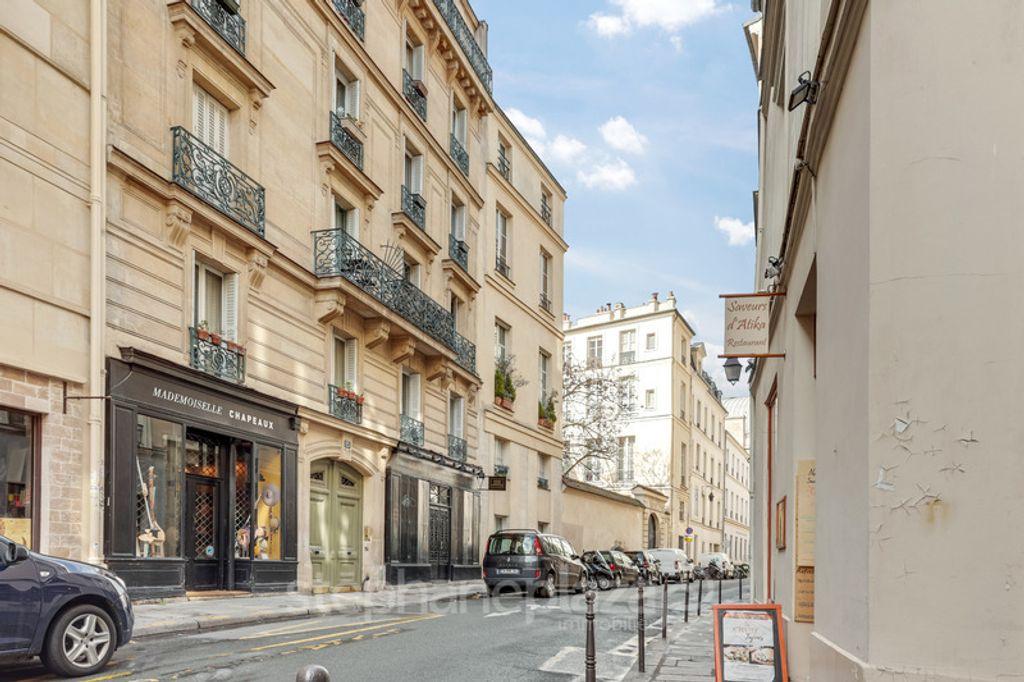 Achat appartement 2pièces 51m² - Paris 4ème arrondissement