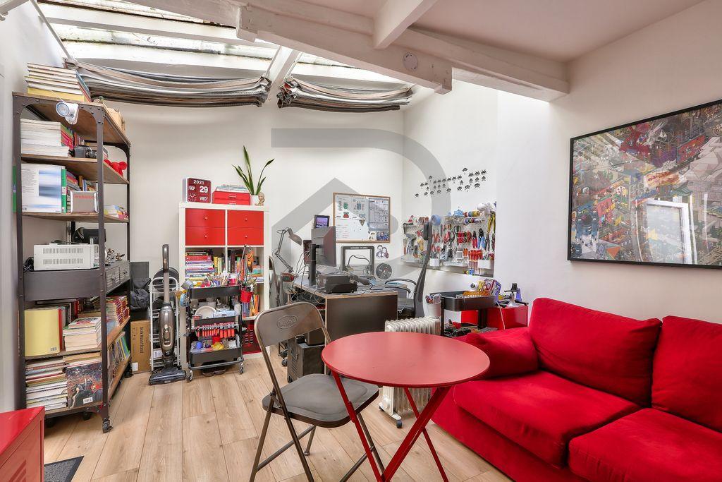 Achat studio 17m² - Paris 17ème arrondissement