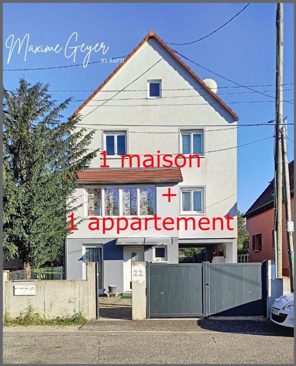 Achat maison 4chambres 242m² - Strasbourg
