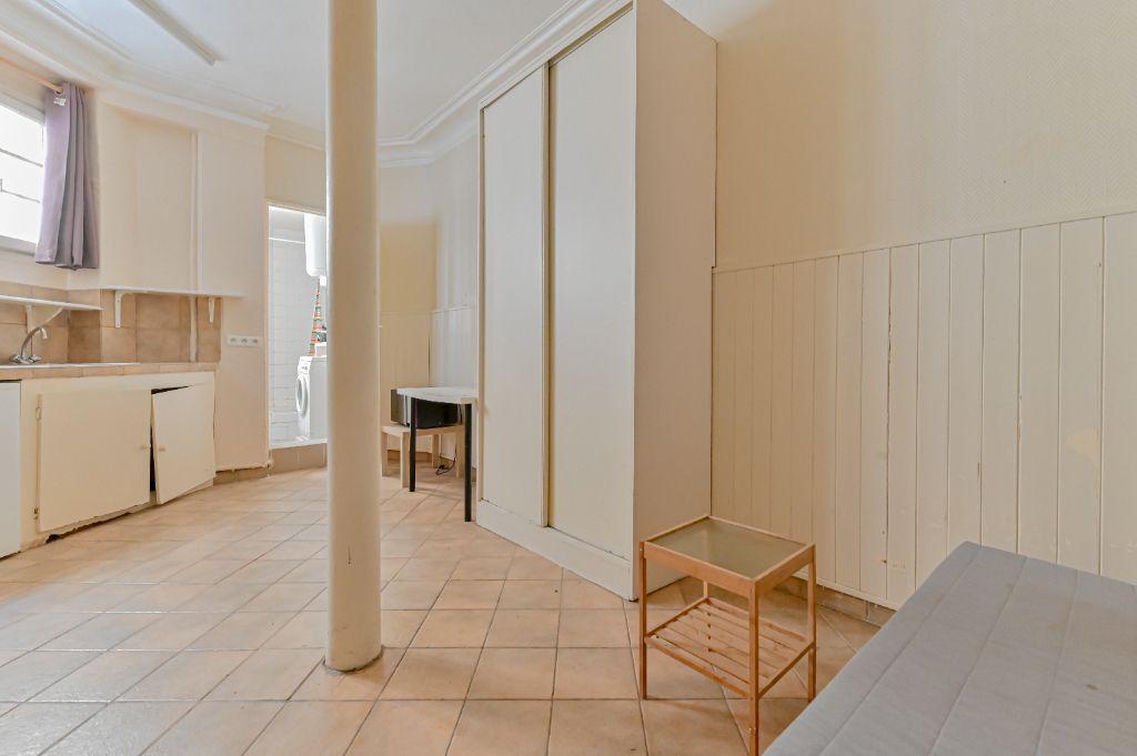 Achat studio 18m² - Paris 18ème arrondissement