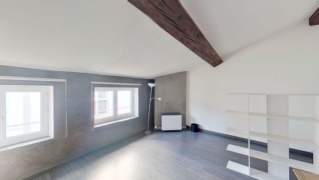 Achat studio 37m² - Lyon 2ème arrondissement
