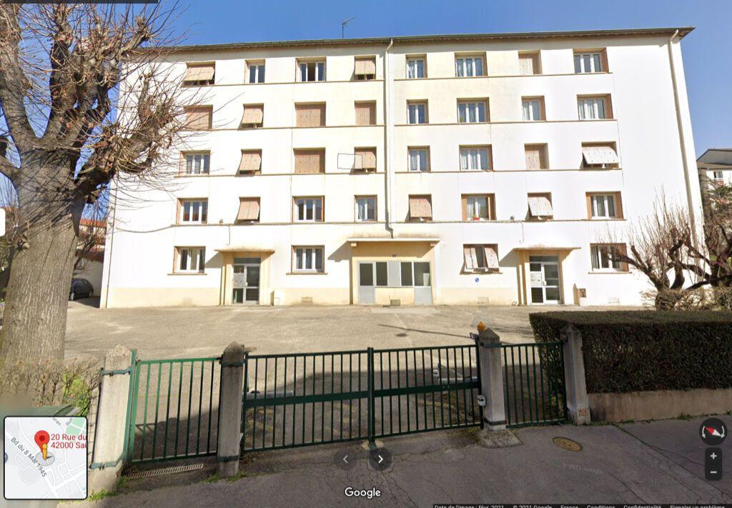 Achat appartement 3pièces 48m² - Saint-Étienne
