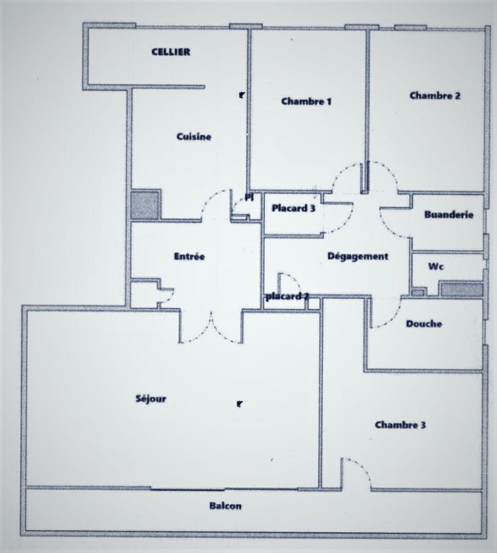 Achat appartement 5pièces 89m² - Massy