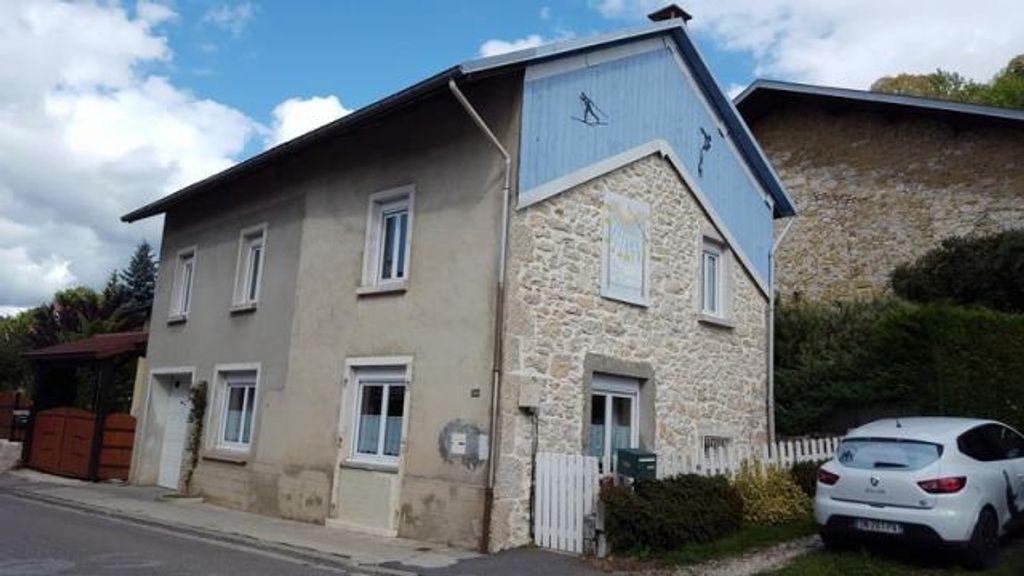 Achat maison 3chambres 108m² - Cormaranche-en-Bugey