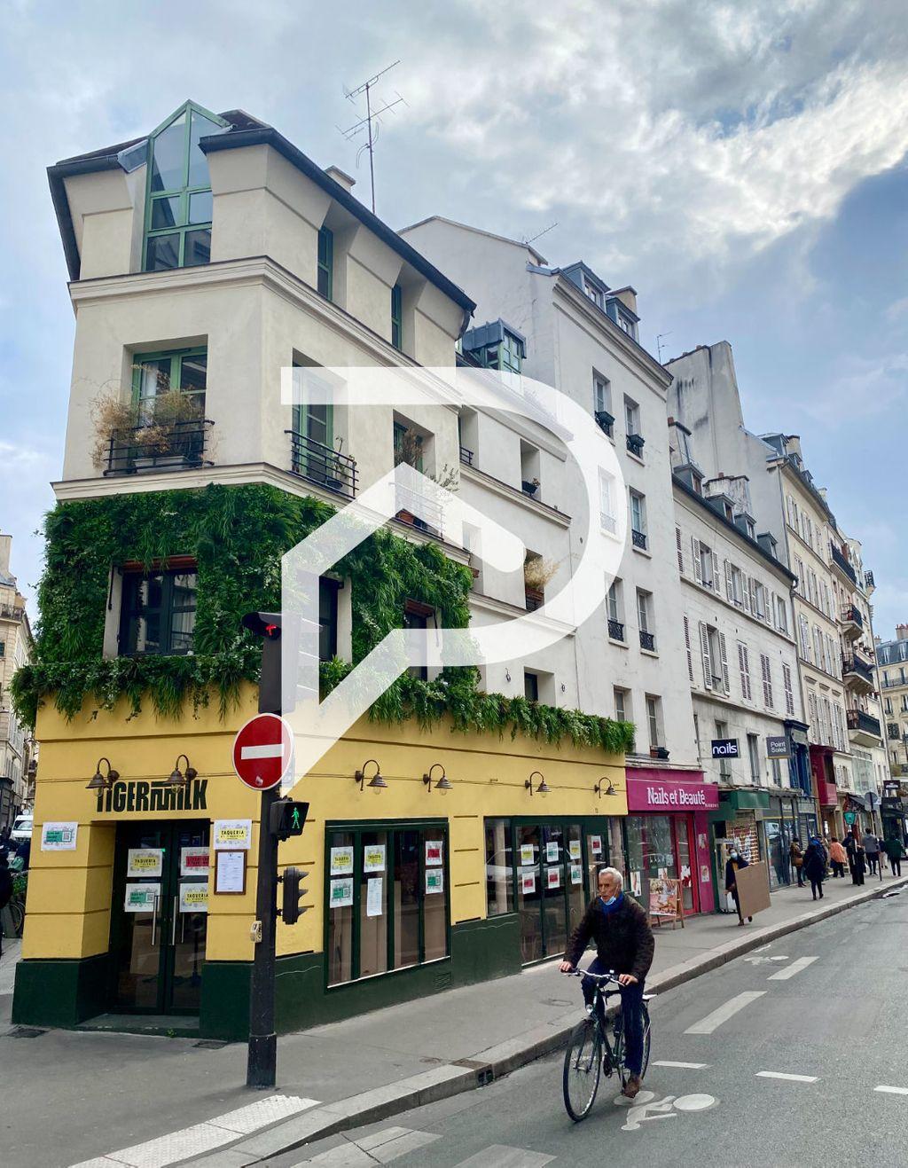 Achat studio 32m² - Paris 9ème arrondissement