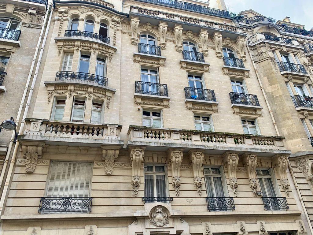 Achat studio 25m² - Paris 16ème arrondissement