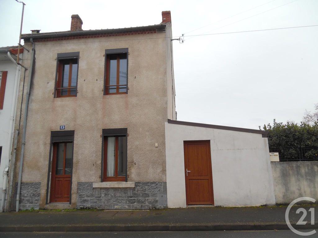 Achat maison 2chambres 70m² - Montluçon