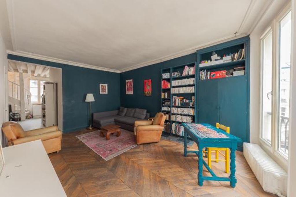 Achat duplex 4pièces 82m² - Paris 2ème arrondissement