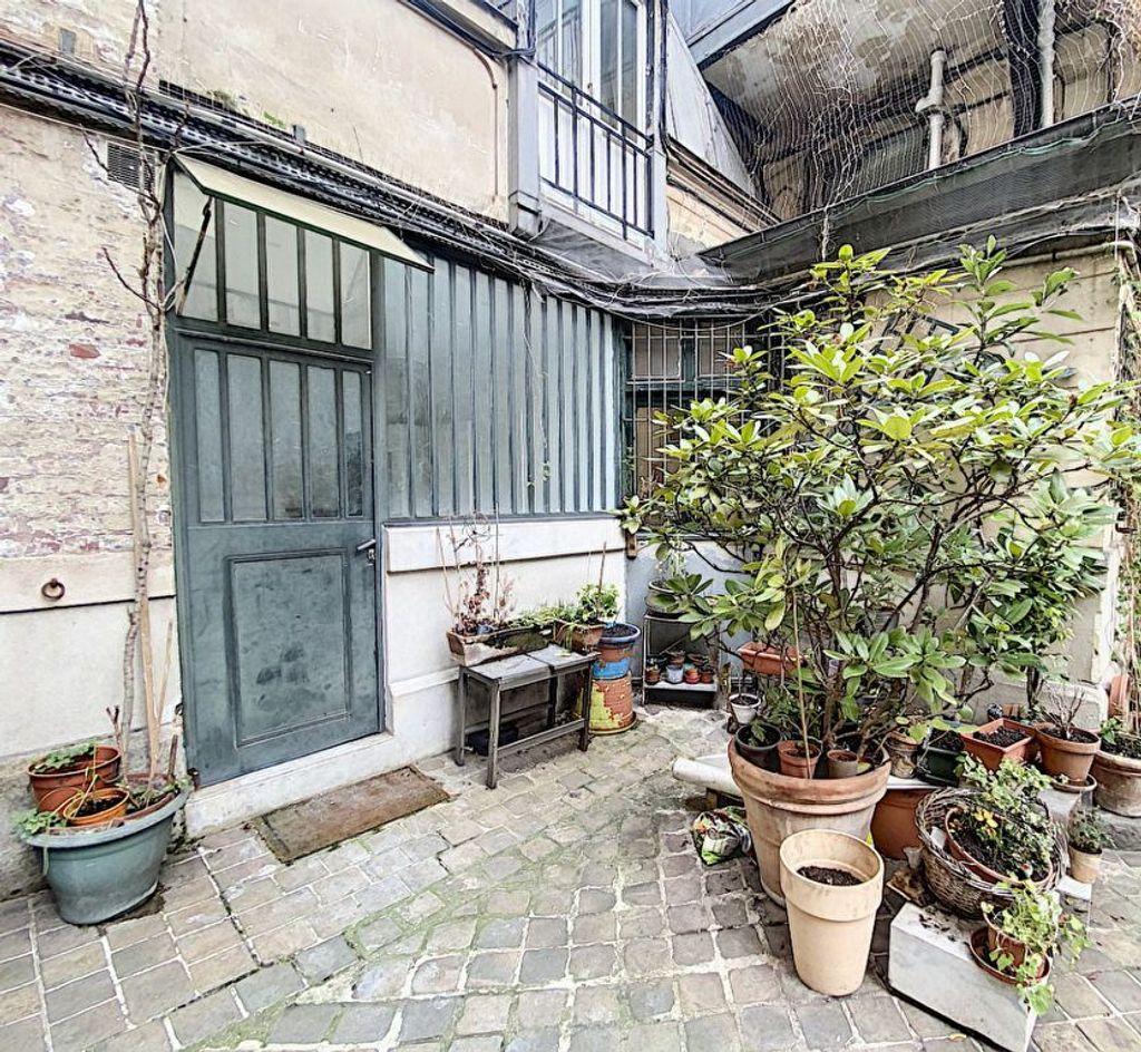 Achat studio 18m² - Paris 10ème arrondissement