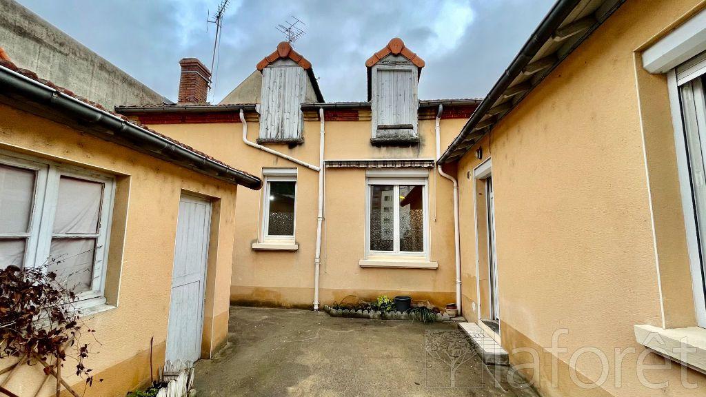 Achat maison 2chambres 82m² - Moulins