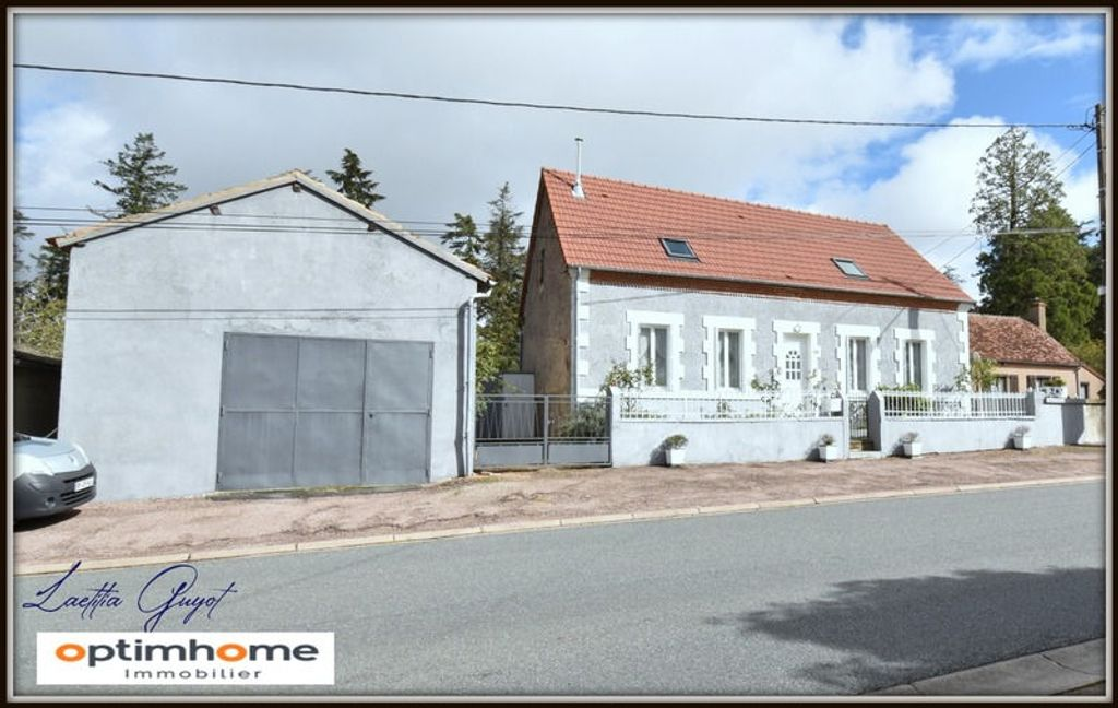 Achat maison 4chambres 130m² - Cérilly