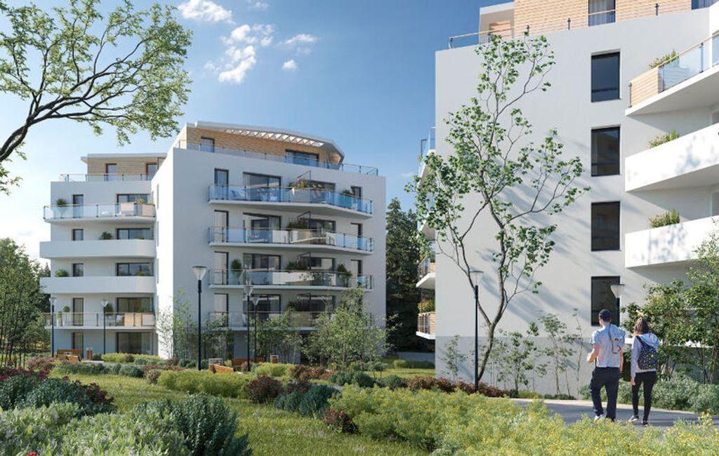 Achat appartement 3pièces 63m² - Saint-Genis-Pouilly
