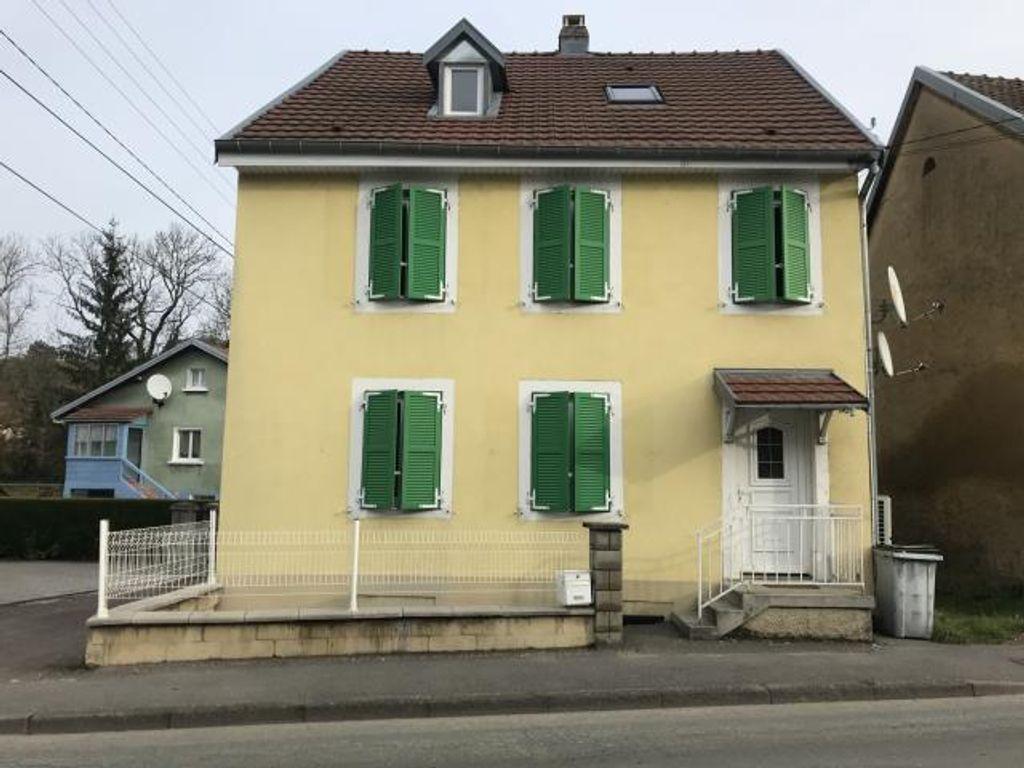 Achat maison 4chambres 125m² - Seloncourt