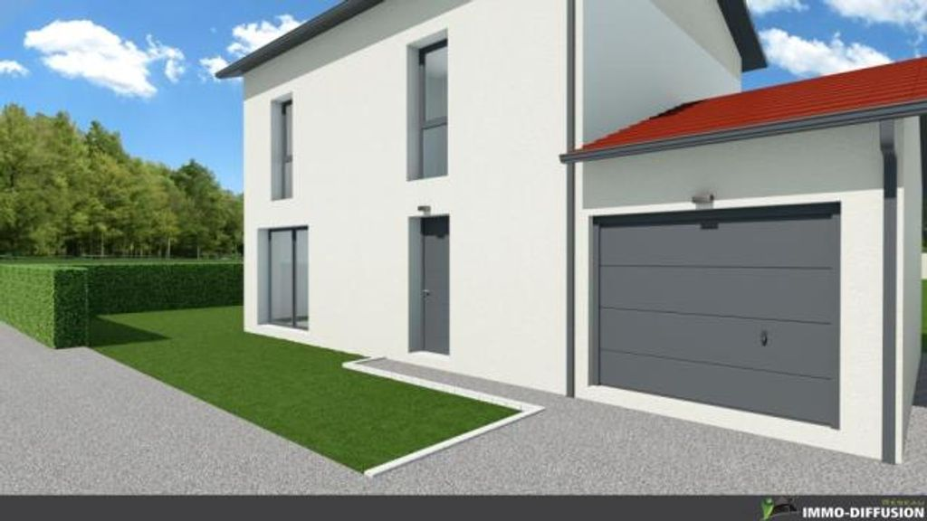 Achat maison 3chambres 90m² - Béligneux
