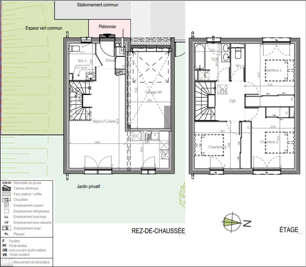 Achat maison 3chambres 81m² - Toulouse