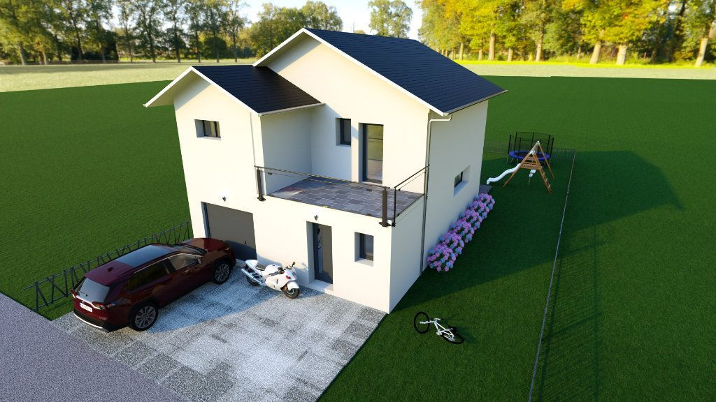 Achat maison 3chambres 123m² - Sergy