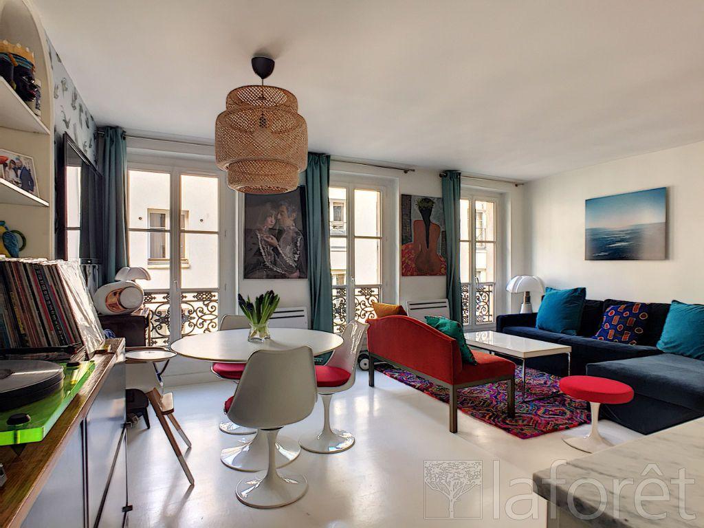 Achat duplex 3pièces 76m² - Paris 2ème arrondissement