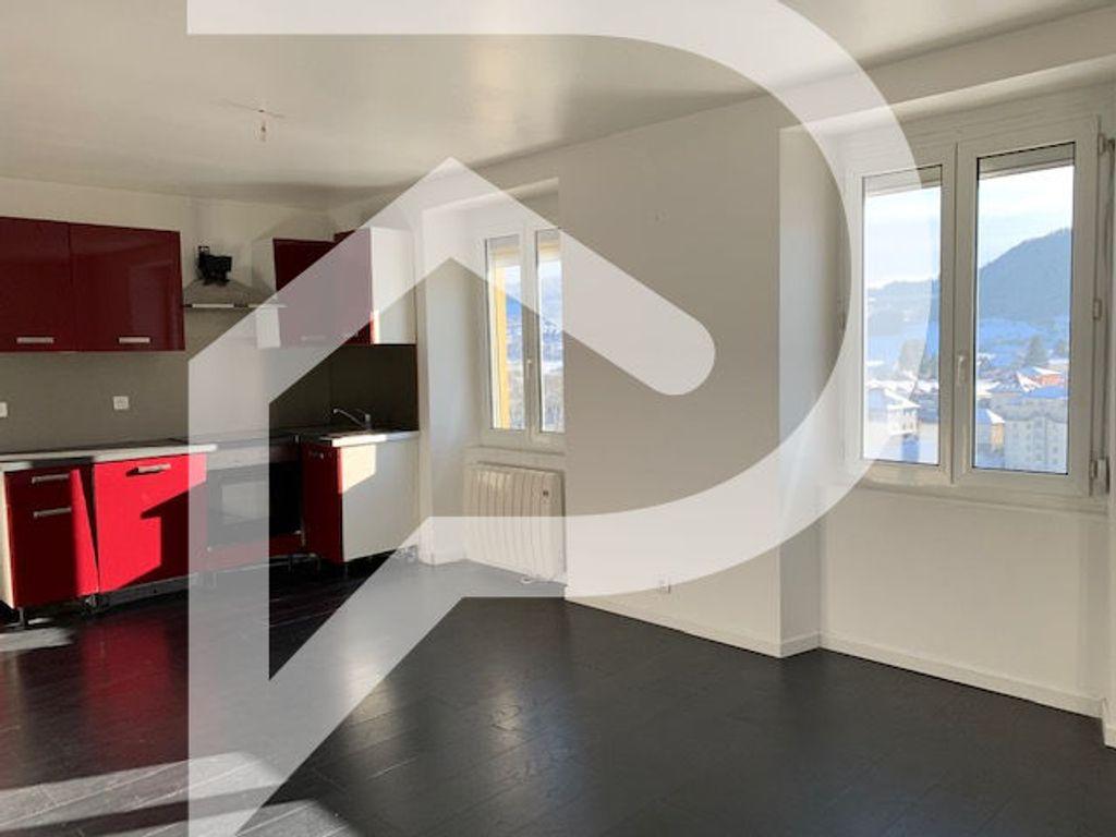 Achat appartement 3pièces 60m² - Villers-le-Lac