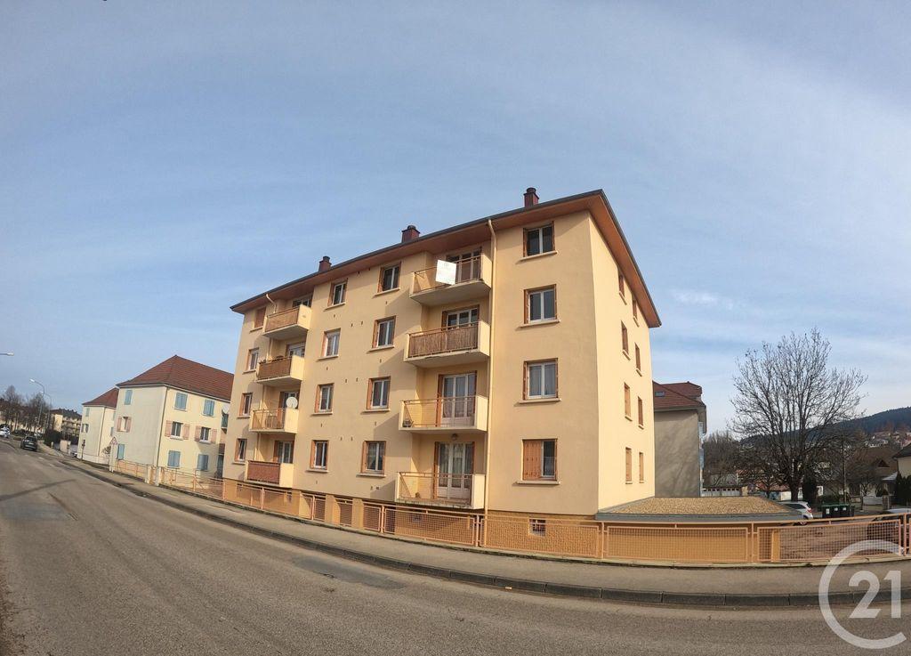 Achat appartement 3pièces 54m² - Pontarlier