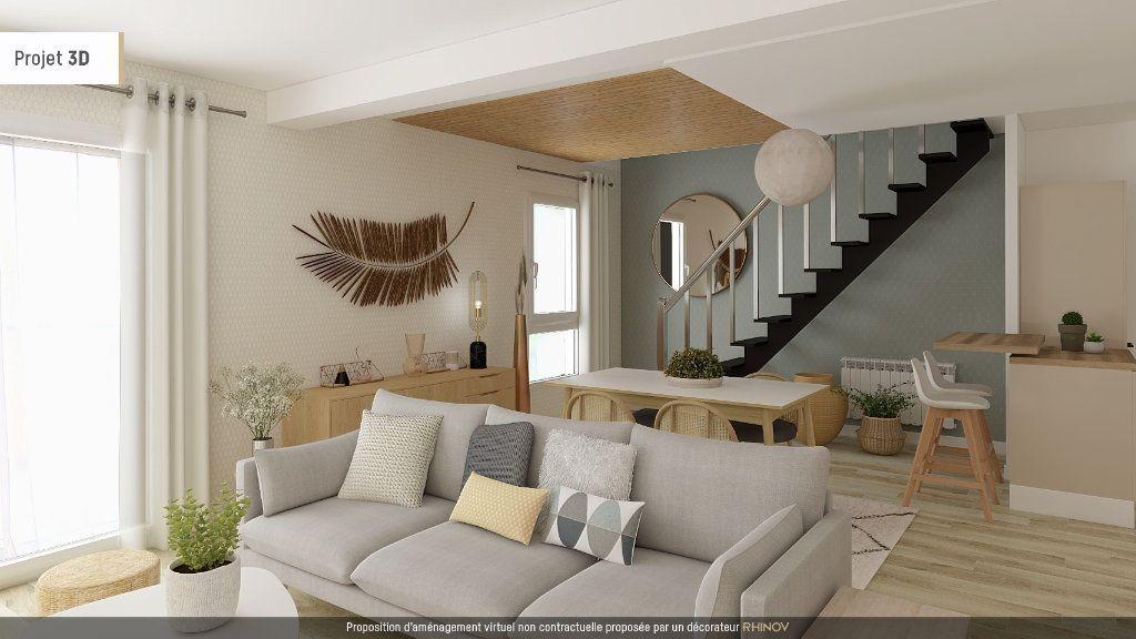 Achat duplex 4pièces 105m² - Saint-Étienne-sur-Chalaronne