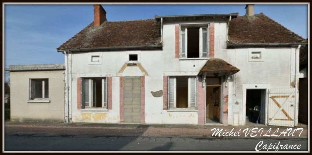 Achat maison 1chambre 71m² - Moulins