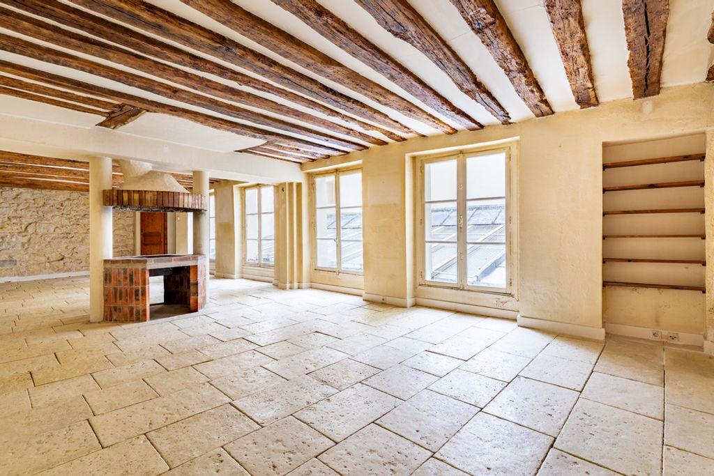 Achat appartement 5pièces 167m² - Paris 4ème arrondissement