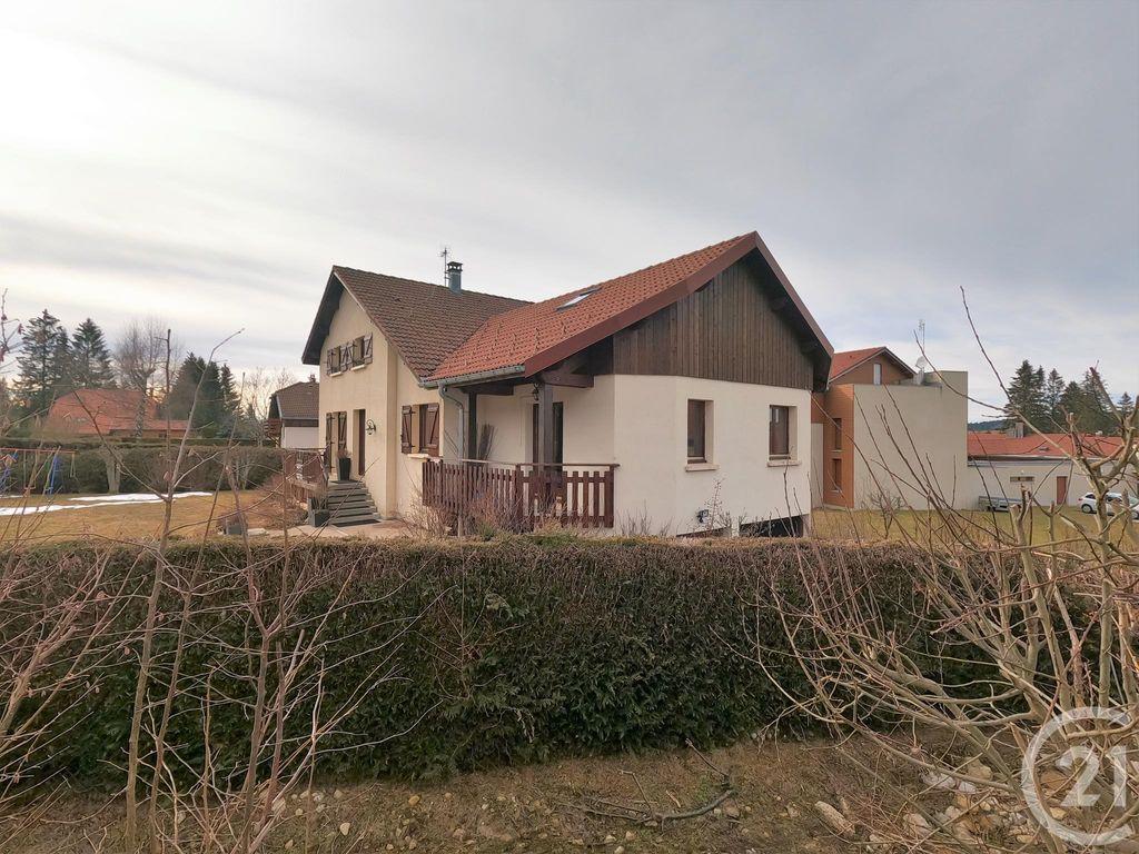 Achat maison 5chambres 180m² - Métabief