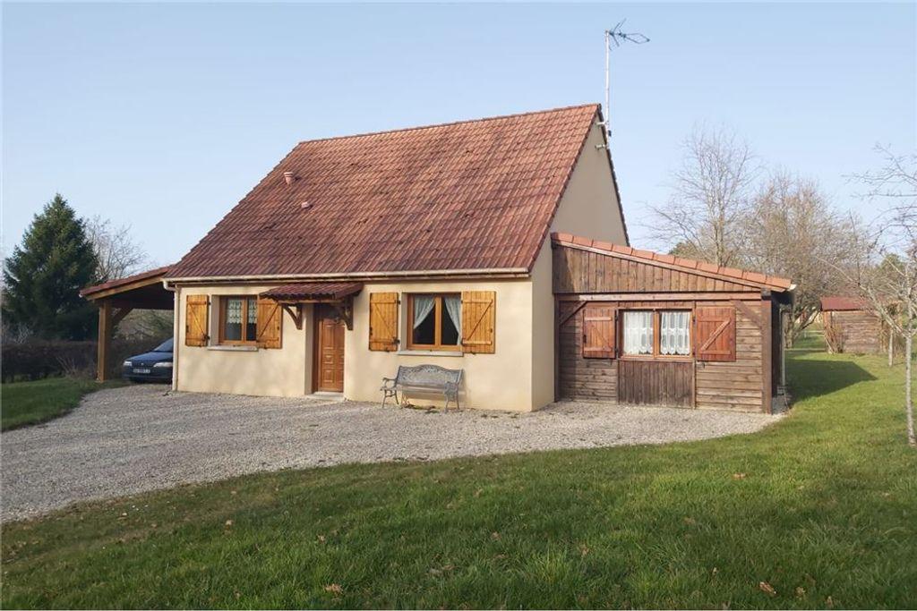 Achat maison 4chambres 102m² - Saint-Sauveur-en-Puisaye