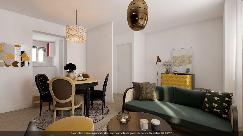 Achat appartement 2pièces 43m² - Paris 9ème arrondissement