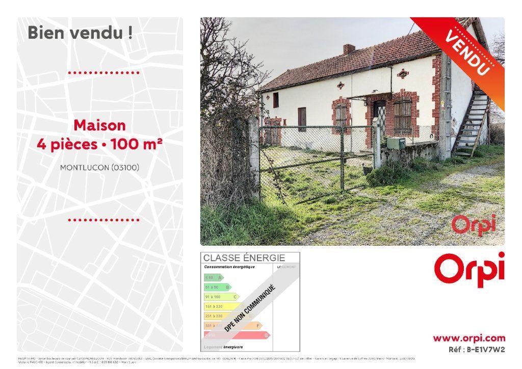 Achat maison 1chambre 100m² - Montluçon