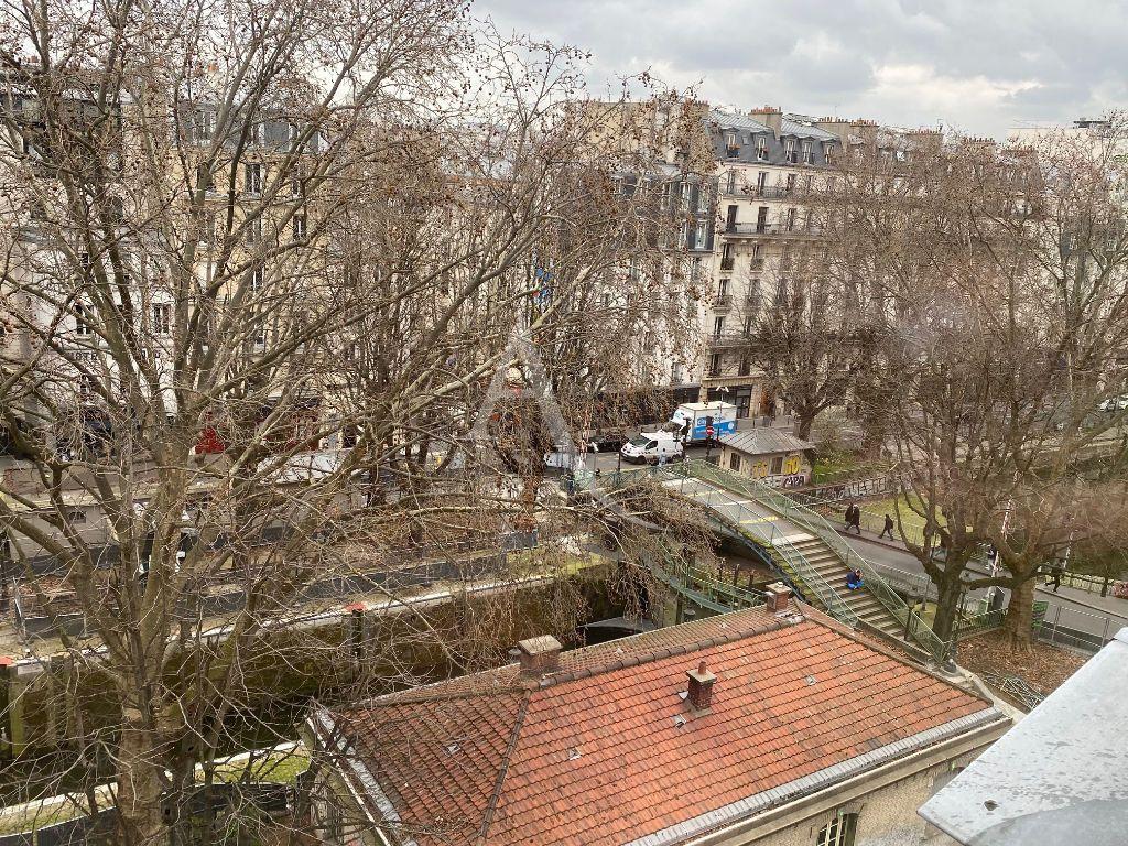 Achat studio 9m² - Paris 10ème arrondissement