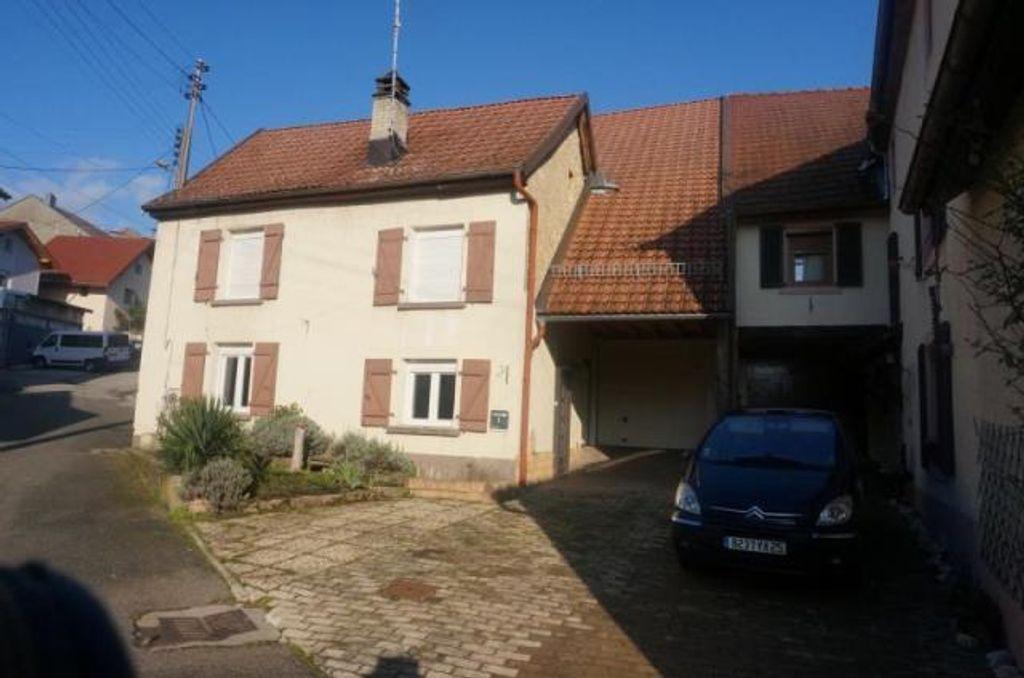 Achat maison 3chambres 80m² - Montbéliard
