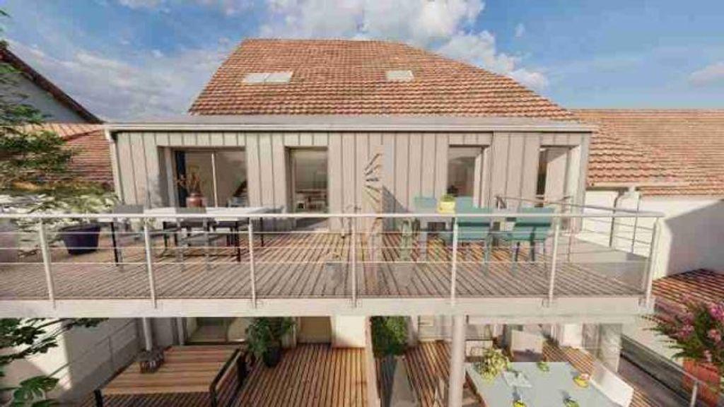 Achat duplex 4pièces 102m² - Vercel-Villedieu-le-Camp