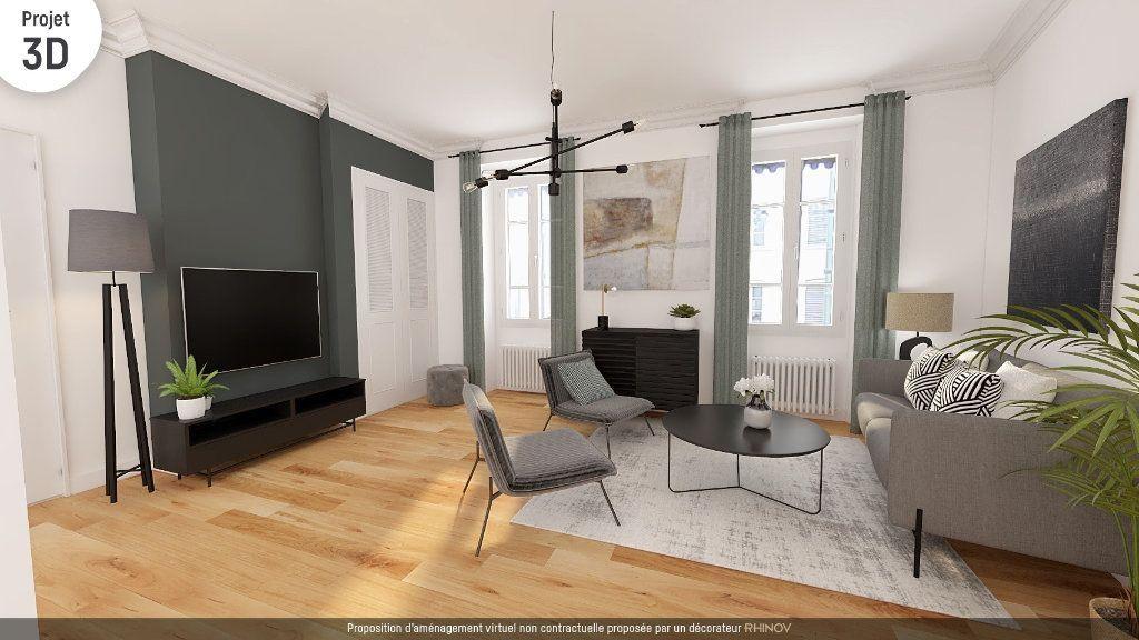 Achat appartement 2pièces 68m² - Lyon 2ème arrondissement