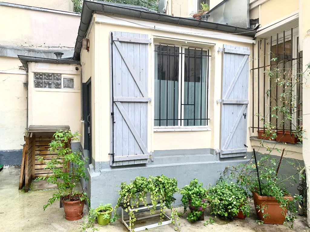 Achat studio 11m² - Paris 11ème arrondissement