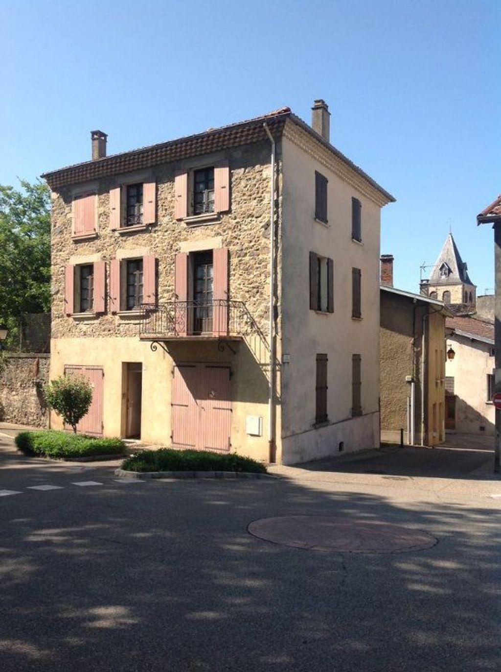 Achat maison 4chambres 120m² - Saint-Vallier